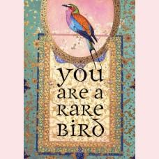 You are a rare bird