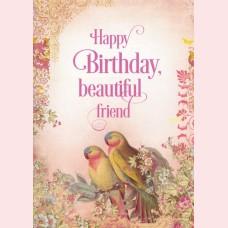 Happy birthday, beautiful friend