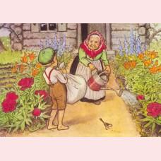 Elsa Beskow 2 - In de tuin