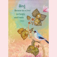 Sing. Because this is food our hungry world needs
