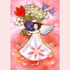 Bloemen-engel