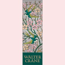 Detail from the design Almond Blossom and swallow