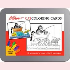 B.Kliban - Catcoloring cards