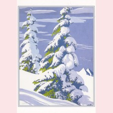Eyvind Earle - Set of Holiday cards