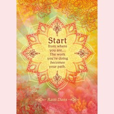Start from where you are...