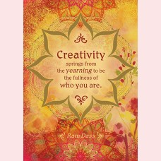 Creativity springs from the yearning.....