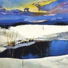 Spring-winter landscape 6