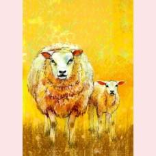 Weet je wat de dieren zeggen 5 - Schaap met lam