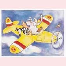 Het gele vliegtuig (geseald)