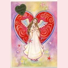 Kerstkaartenset Engel van mededogen
