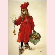 Brita, die Tochter des Künstlers